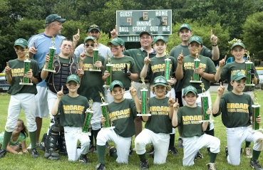Hamden Fathers Major Gold Town Champs